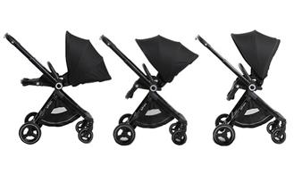 3-in-1 Zit Kinderwagen Verstelbaren Standen